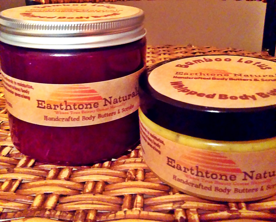 EarthoneNaturals-BodyButter&Scrub